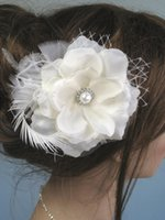 Wholesale feather hair combs for sale - Group buy Wedding Hair Accessories Bridal Headwear In Stock Stunning Wedding Bridal Crystal Flora Hair accessories