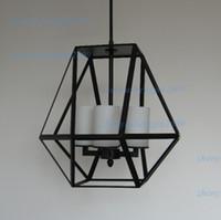 gemas de araña al por mayor-Candelabro LED para velas Kevin Reilly GEM Lámpara colgante moderna Kevin Reilly Lighting Luminaria innovadora para velas y metal