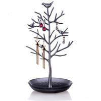 Wholesale Bird Jewelry Holder - Top Quality Jewelry Holder Birds Tree Jewelry Stand Show Rack Jewelry Holder Ring Display Bird Tree Stand Display Organizer Holder