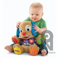 Wholesale Dog Laugh Learn - Zorn Store-Fisher-Price Laugh & Learn Love to Play Puppy doll Multifunction Preschool Puzzle Toys Music Learning dog
