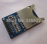 3PCS / LOT Slot SD Socket SD Reader Module Modulo di schede SD per la macchina fotografica / MP3 / MP4 Arduino / ARM lettura e scrittura