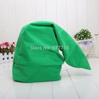 Wholesale Link Cosplay Hat - Wholesale-60CM Length Legend of Zelda Link Cosplay Green Hat zelda hat