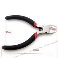 Wholesale-3pcs / lot laterale Wire Cutter Cutter Gioielli perline pinza 180008