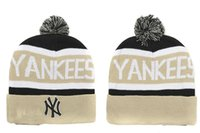 Wholesale Yankees Women - 2015 newest YANKEES Beanie spring Autumn Winter Beanie Men Women Wool free shipping