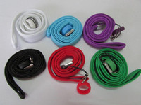 Wholesale Globe Rings - ego Necklace String with silicone Ring Neck Chain Lanyard for eGo,eGo-t,eGo-w,eGo-c Glass Globe Atomizer Electronic Cigarette wax vaporizer