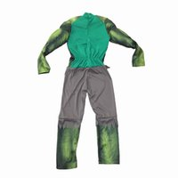 New Avenger Green Giant Costumes per bambini / Fancy dress / Halloween Carnival Party Cosplay Boy Abbigliamento per bambini Decorazioni Forniture