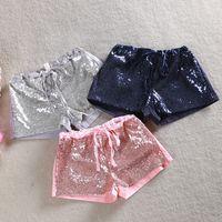 ingrosso pantaloni corti coreani-nuovi vestiti coreani per bambini pantaloncini bambina estate pantalone pantaloni paillette per bambini bambini paillettes pantaloni vestiti delle ragazze