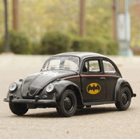 Wholesale Beetles Collection - High simulation car 1:36 scale alloy pull back Batman Beetle Collection metal model toys children's gift diecast model car