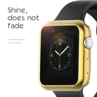 Custodia protettiva galvanica colorata HOCO Soft Silicon per Apple Watch Series 2 42mm38mm TPU Shinning Case