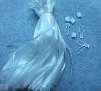 Wholesale Packaging Netting - White 35cm net package bag for ball 18.5cm  25cm length kendama + button net