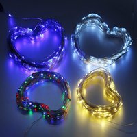 Wholesale Landscape Light Wire - 150 LED 72ft Solar Powered LED Fairy String Light Waterproof Starry Copper Wire Light Outdoor Landscape Garden Christmas Party Wedding Light