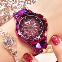 yeni moda el bantları toptan satış-Yeni moda kadın saati, beş renkli ve rahat döner kuvars saatler, parlak grup kadının elini daha güzel yapar