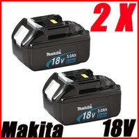 Wholesale 2 PACKS Makita v Lithium Ion Battery BL1830 for power tool A Makita Lithium Battery order lt no track