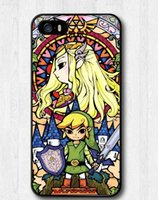 Wholesale Iphone Zelda - Custom Classic Popular Image Legend Of Zelda good quality TPU Case for iPhone 4, 4s, 5, 5s,5c, 6 iphone 6 plus Best Durable phone cases