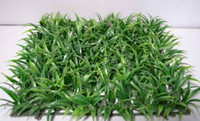 Wholesale Cheap Plastic Decoration - TOP CHEAP Free shipping Artificial plastic grass mat home wedding christmas decoration