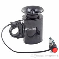 Wholesale Bike Horn Electronic - 6 Sounds Ultra-loud Bicycle Bike Electronic Bell Horn#4900