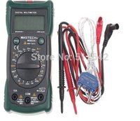 Wholesale Mastech Ms8233c - Mastech MS8233C Handheld Multimeter 3 in 1 Digital Multimetro Temperature Non-contact voltage Tester Diode Continuity Test