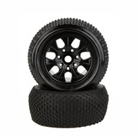 Wholesale Rc Traxxas Truck - 2Pcs RC 1 8 Truck Car Wheel Rim and Tire 810011 for Traxxas HSP Tamiya HPI Kyosho RC Car order<$18no track