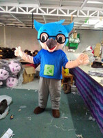 Wholesale Mascot Costumes Usa - Hot Fashion Owl Mascot FREE SHIPPING USA Halloween GRU DISPICABLE ME
