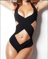 Wholesale Sexy Cheap One Piece Swimsuits - 1510 New Monokinis one piece bathing suit Cheap Sexy Women Bandage Swimsuits 1332