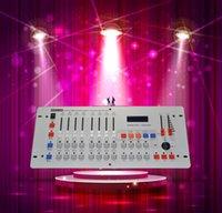 controlador de escenario dj al por mayor-Venta caliente 240 Disco DMX Controller DMX 512 DJ dmx Consola equipos dj Para escenario de bodas y eventos iluminación controlador dj