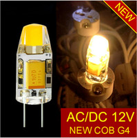Wholesale Cree Led Dc Light Bulbs - new DC AC 12V g4 COB Led bulb Lamp SMD 3014 3W 6W Replace 20w 40w halogen light 360 Beam Angle luz lampada