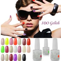 Wholesale gel nails polish colors - Gel UV Fashion IDO Gelish Nail Art Soak Off Colors Harmony Nail Gel Base Top Gel For Nails Gel Polish