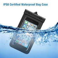 Wholesale waterproof cell phone bag pouch resale online - 2016 New Waterproof Cell Phone Case PVC Mobile Phone Waterproof Bag Pouch for iphone for Samsung quot