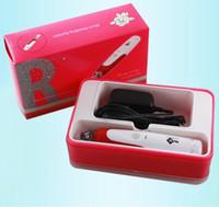 Wholesale derma micro needle stamp cartridges resale online - MYM derma pen Auto Electric Derma Pen Stamp with Micro Needle Cartridges Anti Aging Facial Beauty