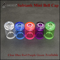 Wholesale subbox mini for sale - 2015 newest Christmas gift Subtank mini bell cap replacement caps for kangertech sub tank subtank mini kanger subox mini subbox starter kit