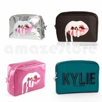 Wholesale Wholesale Birthday Bags - Hot Kylie Cosmetic Bags Holiday edition Birthday Collection Christmas edition I WANT IT ALL Kylie Makeup Bag Free shipping for Kylie Bundle