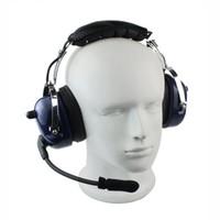 ingrosso cuffie ptt walkie talkie-All'ingrosso-Nuovo PTT VOX Volume regolabile Walkie Talkie Accessori Cuffie auricolari cuffie per radio bidirezionale AA0085