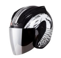 spider scooter - quot IBK N quot Style ABS Scooter Casque Open Face Casco Motorcycle Matt Black quot spider