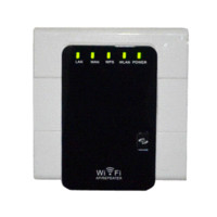 Wireless-N Router AP Repeater Booster wifi Amplificador LAN Client Bridge IEEE 802.11b / g / n300M Adaptador wifi antena wi-fi