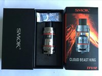 SMOK TFV12 atomizer Tank Beast King 6.0ml Top Refilling Sub Ohm steam Atomizer 27mm Диаметр доставки быстро через DHL