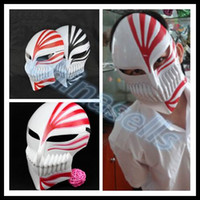 PVC black death animations - adult Halloween Christmas mask party animation cosplay Death Ichigo Kurosaki masquerade mask death god props ghost trot mask props Hip hop d