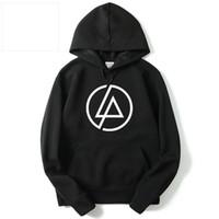linkin park suéter venda por atacado-Nova Moda Linkin Park Hoodies Homens Banda de Rock Outono Inverno Hoodies de Algodão Camisolas Skate Pullover Hoodies Para Homens