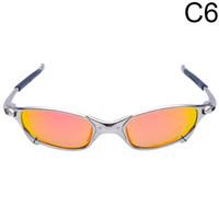 Wholesale Sunglasses Metal Cycling - Wholesale-Original Romeo Men Polarized Cycling Sunglasses Aolly Juliet X Metal Sport Riding Eyewear Oculos ciclismo gafas CP003-5