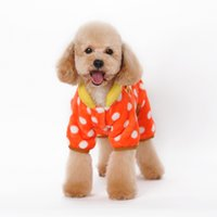 Wholesale Apparel World - Polyester blanket dog apparel winter warm coat puppy dog lovely animal pattren 4 feet casual clothes Bam bam wonderful world
