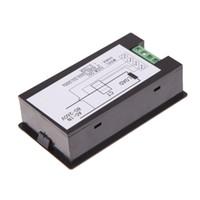 монитор мощность оптовых-Wholesale-Best 100 AC Digital LED Power Panel Meter Monitor Power Energy Voltmeter Ammeter