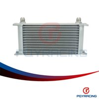 Wholesale Oil Cooler Row - PQY-STORE 19 ROW AN-10AN UNIVERSAL ENGINE TRANSMISSION OIL COOLER PQY7019S