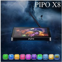 Wholesale Intel Box - Wholesale-Pipo X8 With Dual OS Windows 8.1& Android 4.4 Smart Windows TV BOX Intel Z3735F 2.16GHz Quad Core Processor RAM 2G ROM 32G