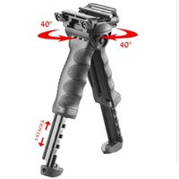 Wholesale T Pod Foregrip Bipod - MAKO Group FAB Defense Unmarking T-POD-G2 Rotating Tactical Foregrip & Bipod ris picattinny rail black