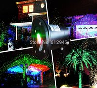 Wholesale Lasers For Stage Lighting - Christmas Waterproof laser Landscape lighting for outdoor.Sky star Green Red laser Projector stage light for outside garden lawn