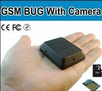 Wholesale Mini Spy Gsm Camera - New 2015 Mini Camcorder Locator X009 GSM 850 900 1800 1900MHz ideo Recorder Tracking Device SOS SPY DV camera