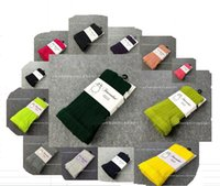 Wholesale Pantyhose Cotton Socks For Children - Hot sale New fashion baby girls knit pantyhose, cotton Candy color Children Socks,girls socks,for 13 colours