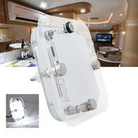 Подробная информация о 12V DC Cool White LED Crystal Roof Ceiling Light Caravan / RV / Car / Motorhome / Marine