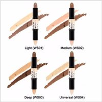 Wholesale Pick Sticks - NYX concealer Wonder stick highlights and contours shade stick Light Medium Deep Universal Pick up mixed available