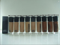 Wholesale Dark Foundations - FREE SHIPPING DHL ! NEW AAA quality makeup nc MATCHMASTER liquid foundation 35ML