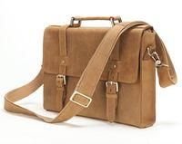 Wholesale 13 Inch Leather Messenger Bag - uggage Bags Briefcases Free shipping Fashion men cowhide genuine leather business briefcase messenger bag 13 inch laptop handbag shoulder...
